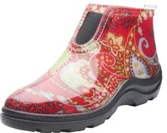 Sloggers 2841RD06 Rain and Garden Ankle Boot with Comfort Insole, Women's Size 6, Red Paisley Sloggers http://www.amazon.com/dp/B00G0KHHU0/ref=cm_sw_r_pi_dp_FUpPub1QJST0C
