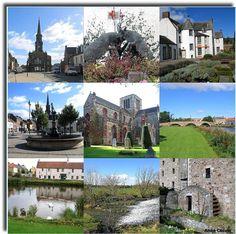 Haddington. East Lothian. Scotland