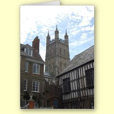 Gloucester Cathedral Greeting Card