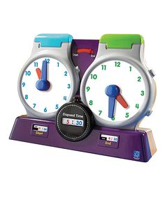 Look at this Elapsed Time Clock on #zulily today!