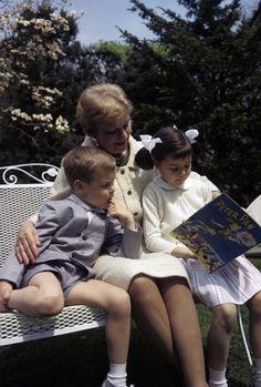 GRACIEBIRD: Prince Albert and Caroline of Monaco with her grandmother, Margharet Kelly.