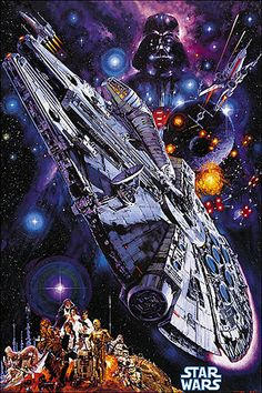 Sci-Fi-O-Rama » Starwars - 1978 Japanese Dub Poster