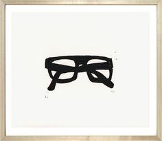 John Derian Company Inc — Heavy Frame Spectacles