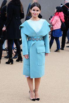 Lưu Gia Linh, Angela Baby nổi bật tại Tuần lễ thời trang London 21