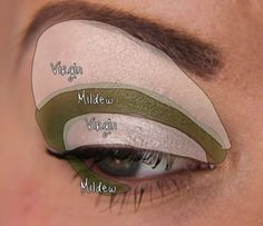 Simply look with UD Virgin & Mildew
