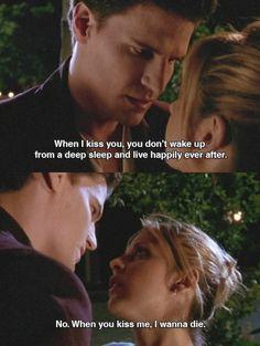Buffy and Angel...