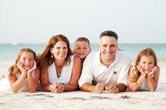family beach photos ideas | Family on the beach - My Budget Travel Photo