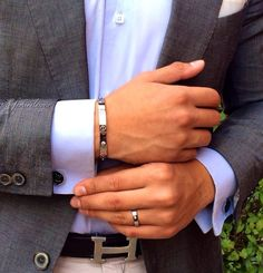 Cartier love bracelet and ring