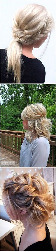 Wedding Hairstyles » 24 Lovely Medium-length Hairstyles For Fall Weddings »   ❤️ See more:  http://www.weddinginclude.com/2017/07/lovely-medium-length-hairstyles-for-weddings/