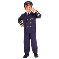 Airline Pilot Child Costume