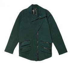hunter green outerwear