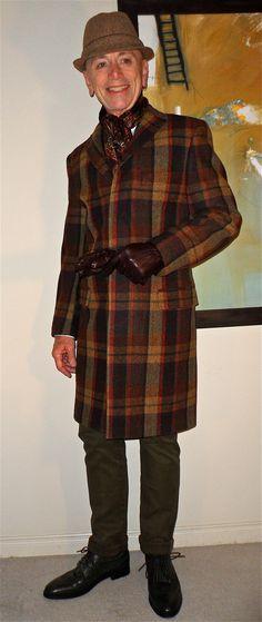 colourful coat