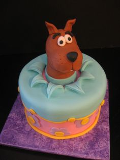 Scooby Doo Cake by The Mad Platters