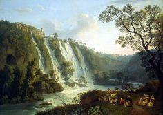 Хаккерт, Якоб Филипп - Вилла Мецената и водопады в Тиволи. часть 12 Эрмитаж
