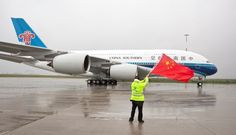 Air route opens between central China, Middle East