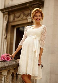 Kurzes #Brautkleid für die standesamtliche #Hochzeit  von Rime ...
