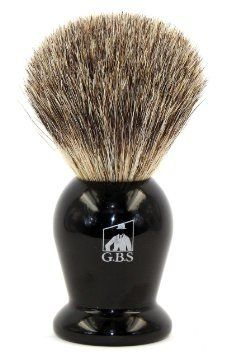 GBS Pure Badger Bristle Shaving Brush Black Handle & Drip Stand Brush Holder for Proper Drying Lathers Shave Soap Cream or Foam Compliments All Razors Mugs Ultimate Best Wet Shaving Experience Mens Shaving Brush, Badger Shaving Brush, Shaving Soap, 100 Pure, Compliments, Health And Beauty, Pure Products, Cream, Mugs