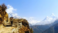 Perfect view of Everest Base Camp trekking Trail.