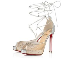 Christian Louboutin OFF!>> Womens New Arrivals - Designer Shoes Handbags - Christian Louboutin Online Boutique Heel Pumps, Stiletto Heels, High Heels, Louboutin Online, T Strap Shoes, Christian Louboutin Heels, Shoe Art, Lace Up Heels, Wedding Shoes