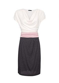 MANGO - Vestido faixa drapeada