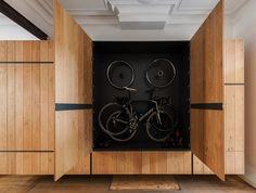 Bookbike Van Byografia : Best bike storage in sprinter images sprinter van conversion