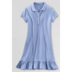 Lands End-Girls' Short Sleeve Knit...   $30.00