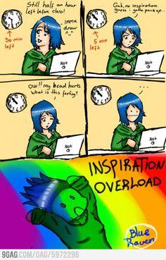 Damn you Inspiration!