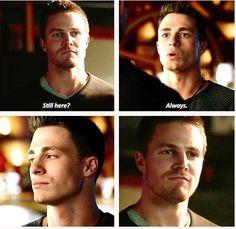 Arrow - Oliver & Roy Harper #CityofHeroes #Season2