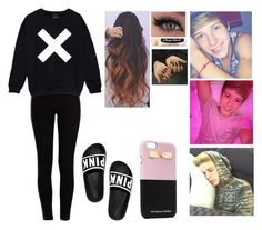 """""""Blake Gray Imagine #6"""" by jasmine-the-basic-penguin ❤ liked on Polyvore featuring Pieces, Victoria's Secret and Chapstick"""