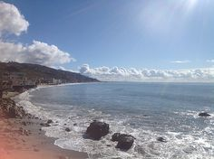 View from Malibu Beach Inn on Carbon Beach, Malibu. #Malibu #MalibuBeachInn #CarbonBeach #ocean #beach