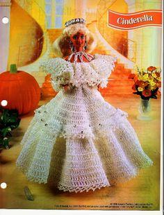 Barbie Crochet, CINDERELLA,