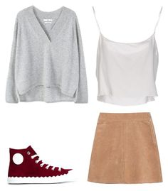 """""""Comfy ootd"""" by solia-horn on Polyvore featuring Chloé, Jean-Paul Gaultier, See by Chloé and MANGO"""