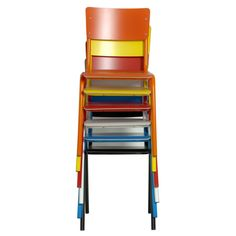 chaise back to school - Chaise Eleven Patchwork Colors