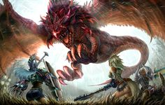 Rathalos - Monster Hunter