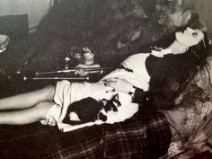 "mundus-absconditus: ""French woman enjoying the pleasures of opium in a Parisian opium den, "" Vintage Versace, Vintage Dior, Vintage Beauty, Vintage Vogue, Vintage Style, Opium Den, Brassai, Through The Looking Glass, Laura Lee"