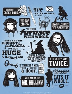 The Hobbit: memorable quotes