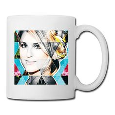 Meghan Trainor Mugs Are Made By Ceramics(china)and The Volume Is 350 Ml.It's Easy To Take And Ear Cups Can Prevent Burns.The Design Is Printed On Both Sides Of The Mug.Best Gift For Dadhusbandmomw...