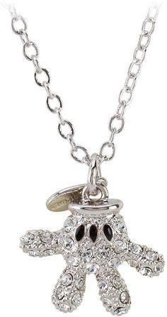 6a74c4c8a7667d Disney Mickey Mouse Necklace by Arribas - Mickey Glove. Tanya Bracknall