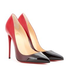 475b45c8f0e7c Christian Louboutin - Pigalle Follies 100 patent leather pumps - Stand tall  in these killer heels