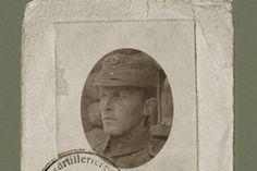 Wittgenstein's identity card, 1918.