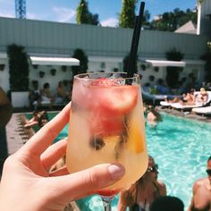 Cocktails by the pool...nothing better<3