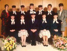 Britannia Airways [very old uniforms]