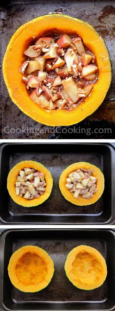 Buttercup Squash with Apples Recipe