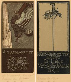Ex Libris, Black Apple, Zimmerman, Wood Engraving, Page Design, Printmaking, Art Nouveau, Stars, Books