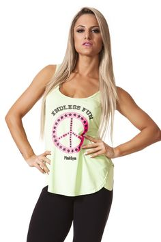 tank-shirt-endless-fun-pink-gym-regx13013 Dani Banani Fashion Fitness