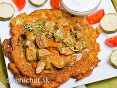 Bravčové mäsko so zemiakovou plackou