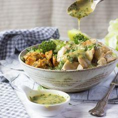 #delicious Mustard & Tarragon Chicken Bliss Bowl #foodie