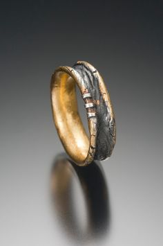 Stitched Ring by celiefago on Etsy, $295.00