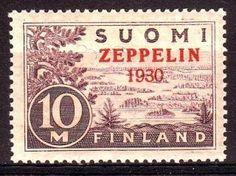 You've Got Mail, Zeppelin, Postage Stamps, Finland, History, Vintage, Design, Historia, Vintage Comics
