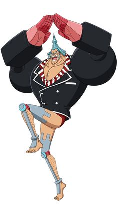 Franky from the One Piece anime